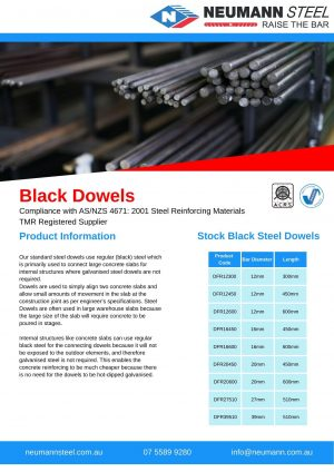 Black Dowels