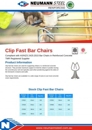 Clip Fast Bar Chairs Product sheet