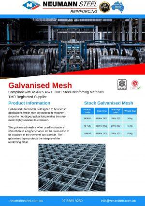 Galvanised Mesh