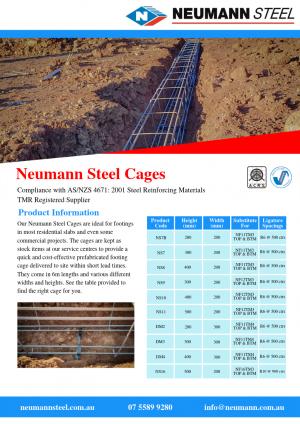 Neumann Steel Cages