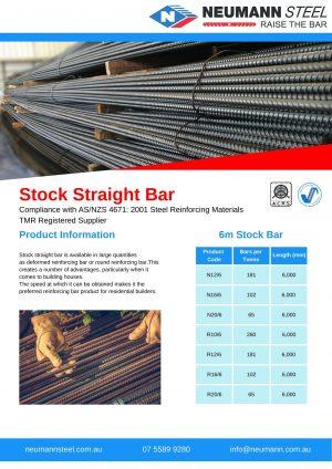 Stock Straight Bar