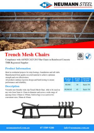Trench Mesh Chairs